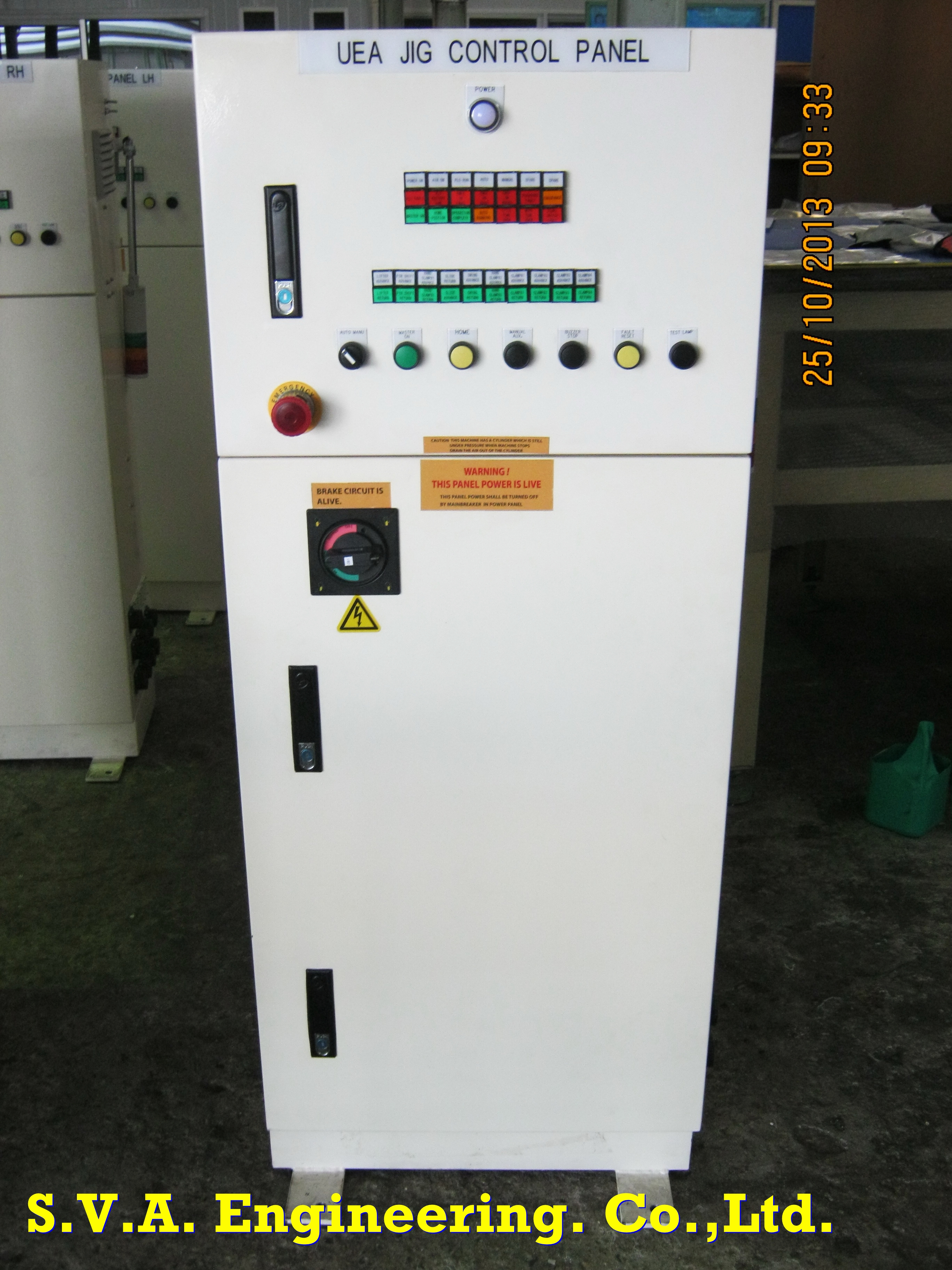 Control System for Jig by PLC