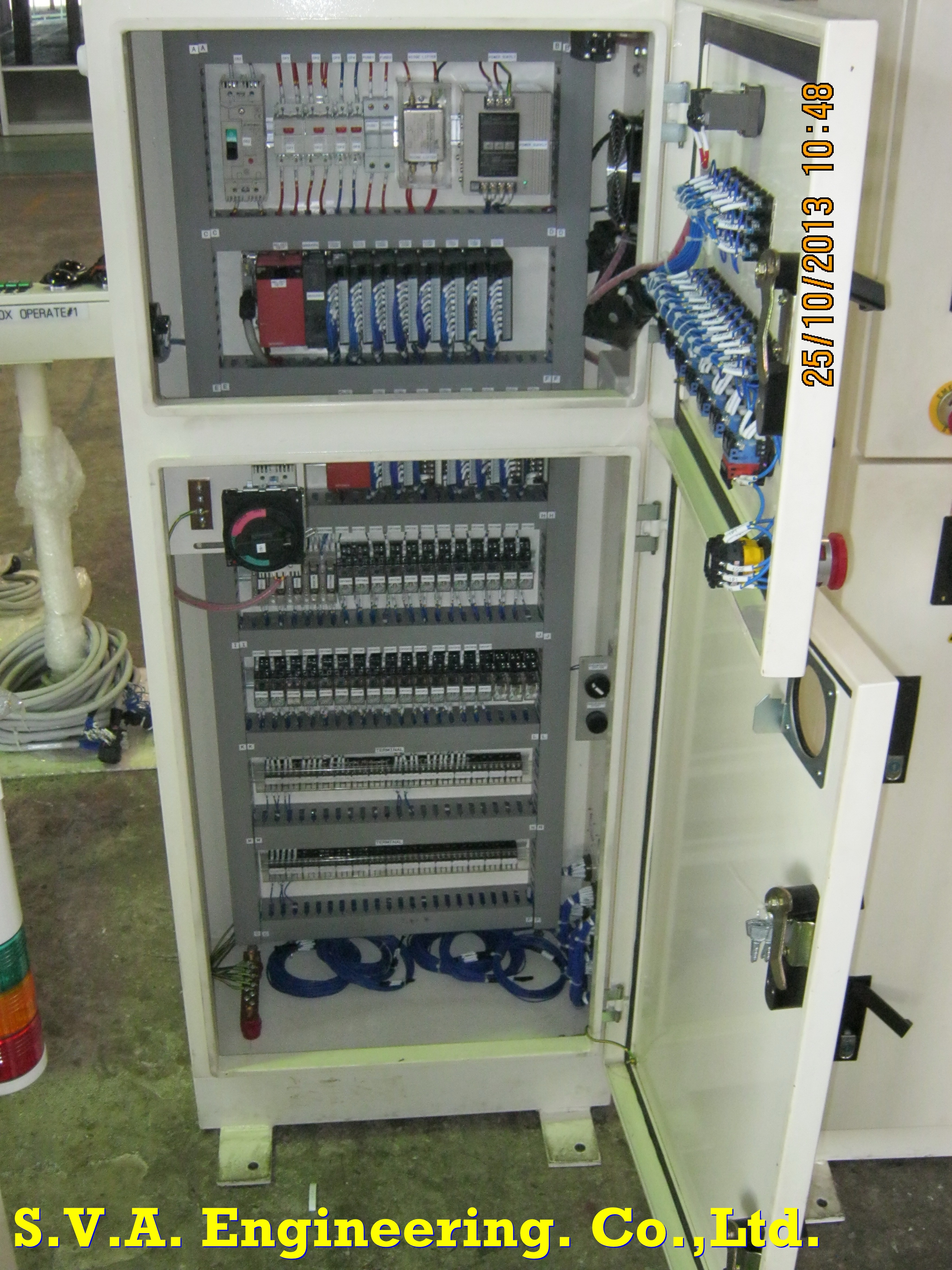 Insize Control System for Jig by PLC