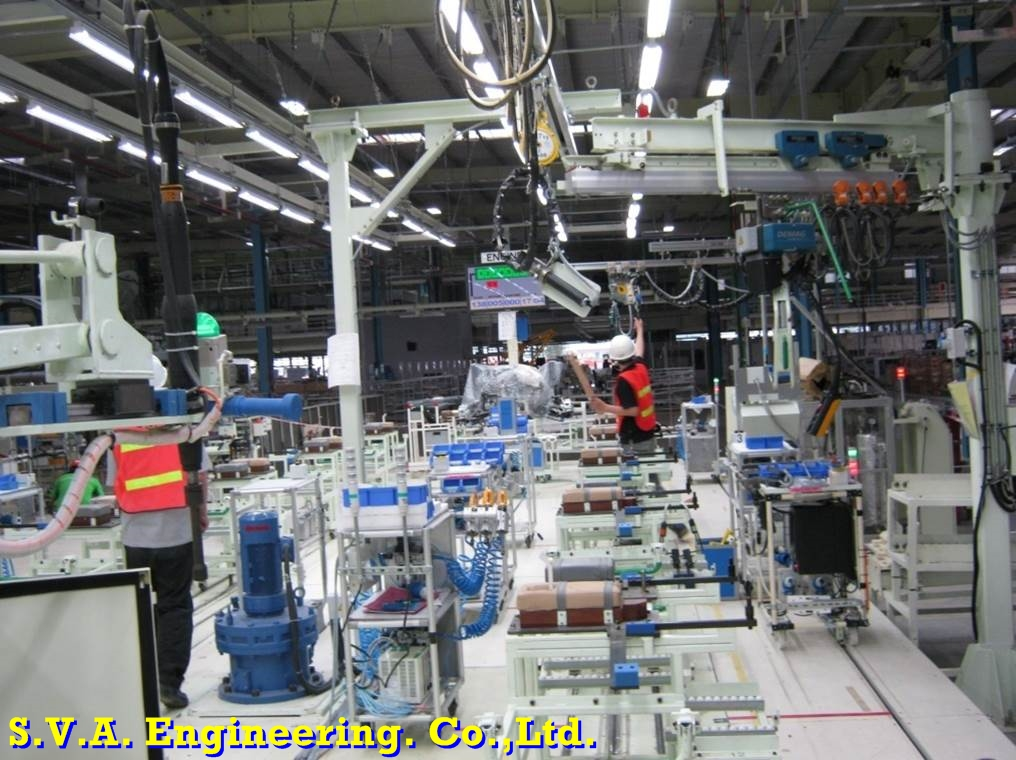 Engine Preparation Line